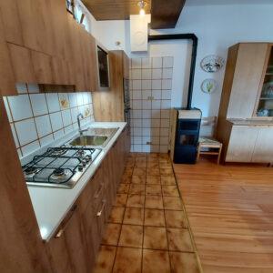 Cucina super accessoriata, pratica e funzionale